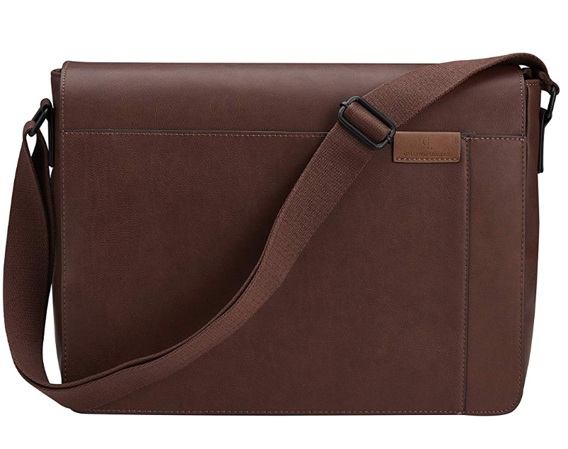 Gallaway Leather Messenger Bag