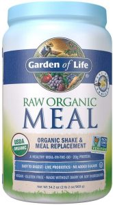 Raw organic meal - organic shake and meal replacement