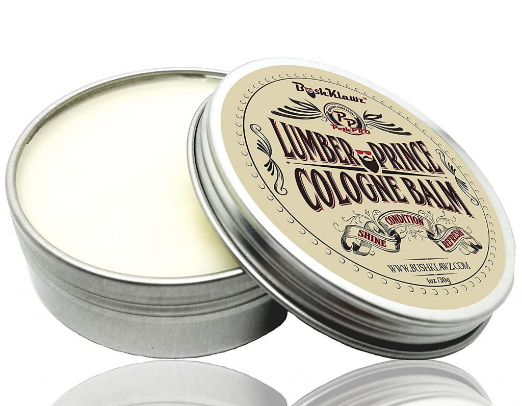 Lumber Prince Men's Cologne Balm