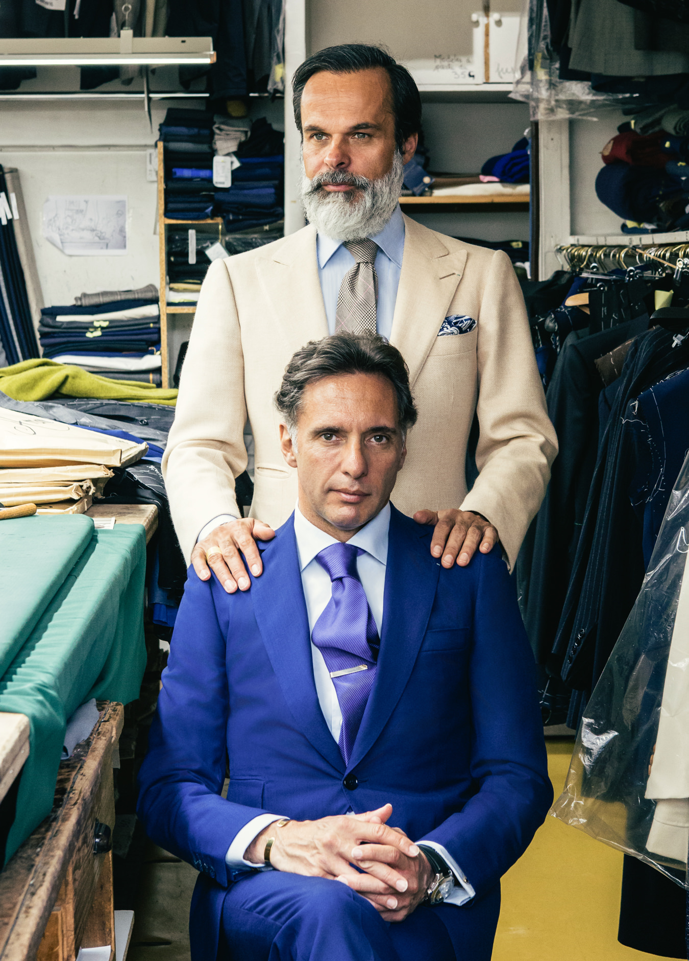 Lorenzo and Massimo Cifonelli, Bespoke Suits
