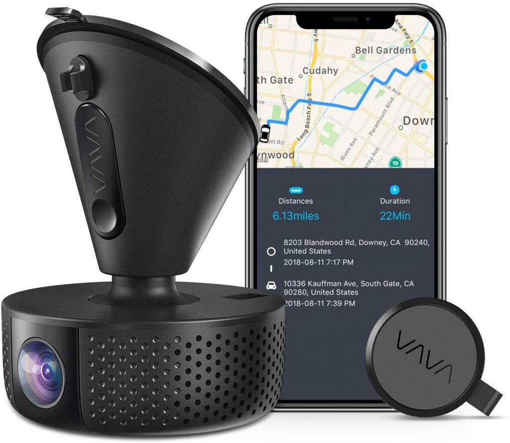 VAVA Car Dash Cam, Camera, Car