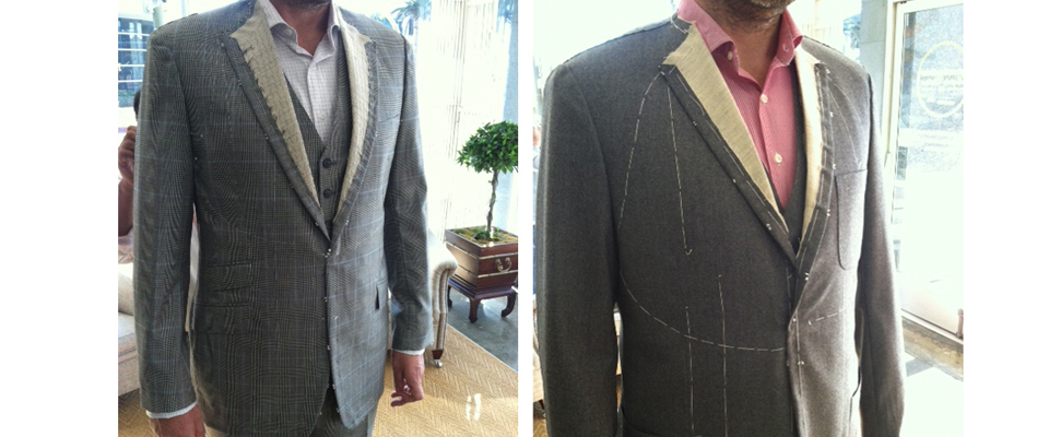 Johnathan Behr bespoke suits, Bespoke Suit