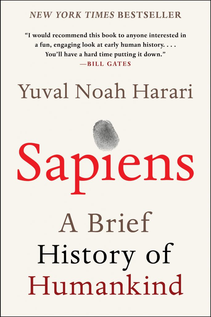 Sapiens - A Brief History of Humankind by Yuval Noah Harari, Books Every Man Should Read, Philosophy