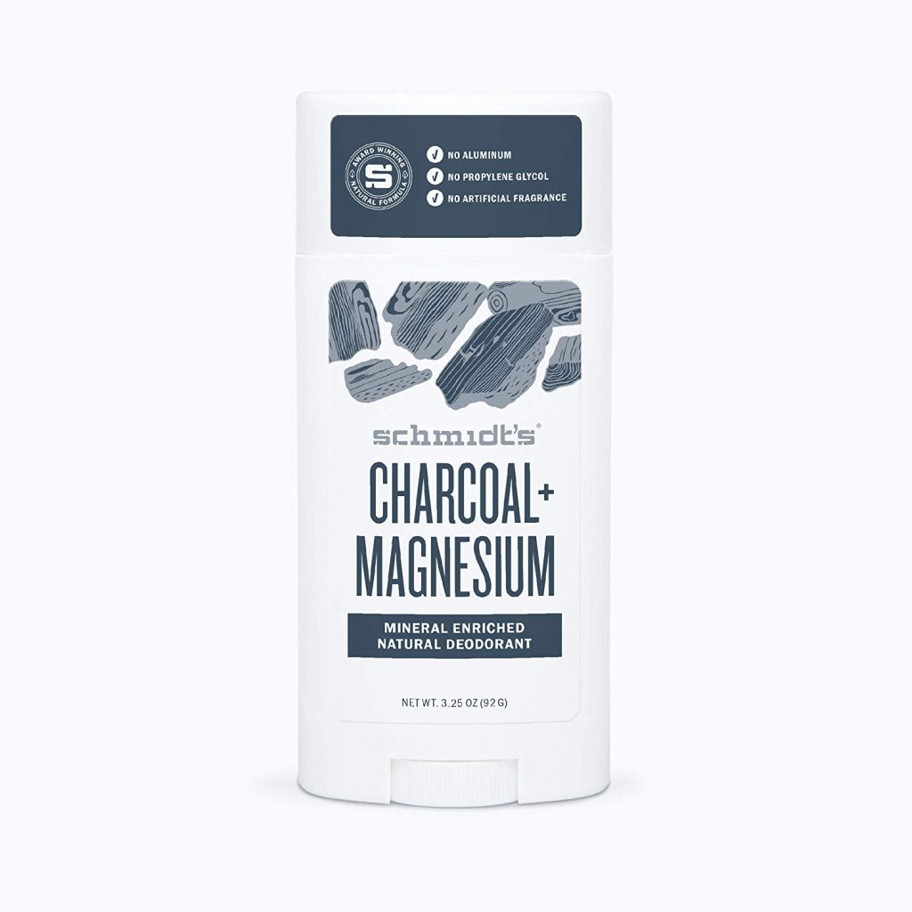charcoal magnesium best men's deodorant natural