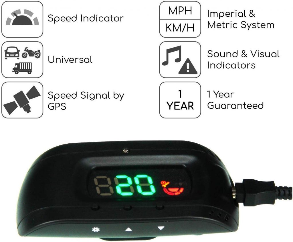 SEI Heads-up Display Speedometer, Speed, Car Gadgets