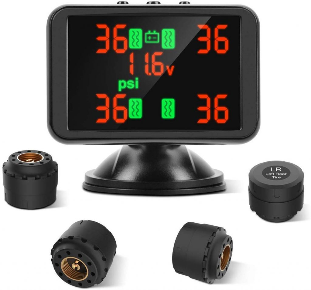 Tymate TPMS, Tire Monitoring