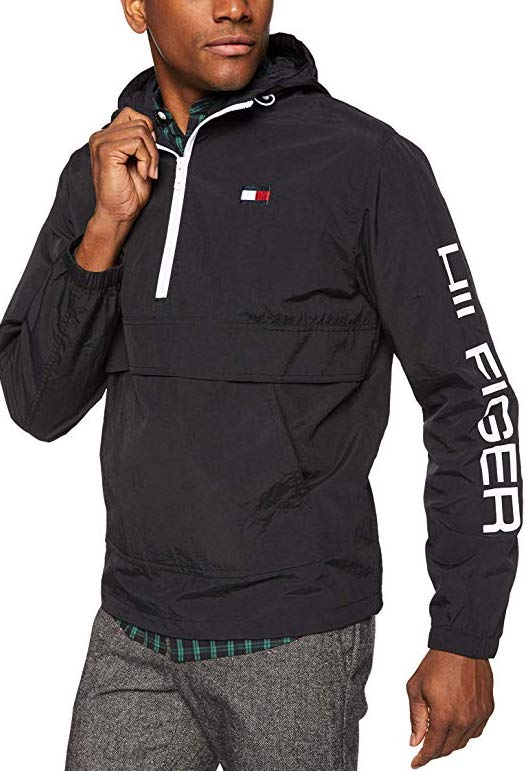 Tommy Hilfiger sporty sweatshirt in black