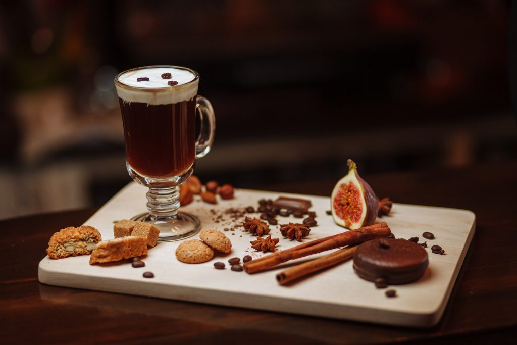classic cocktail irish coffee