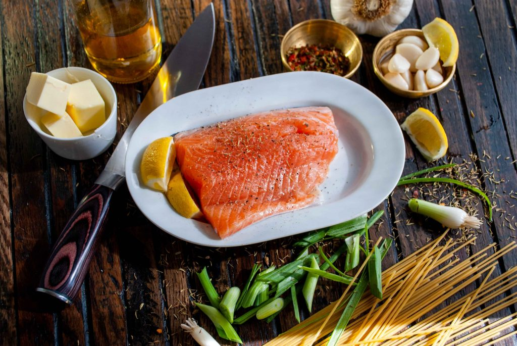 High Protein Foods, Salmon, Grilled Salmon