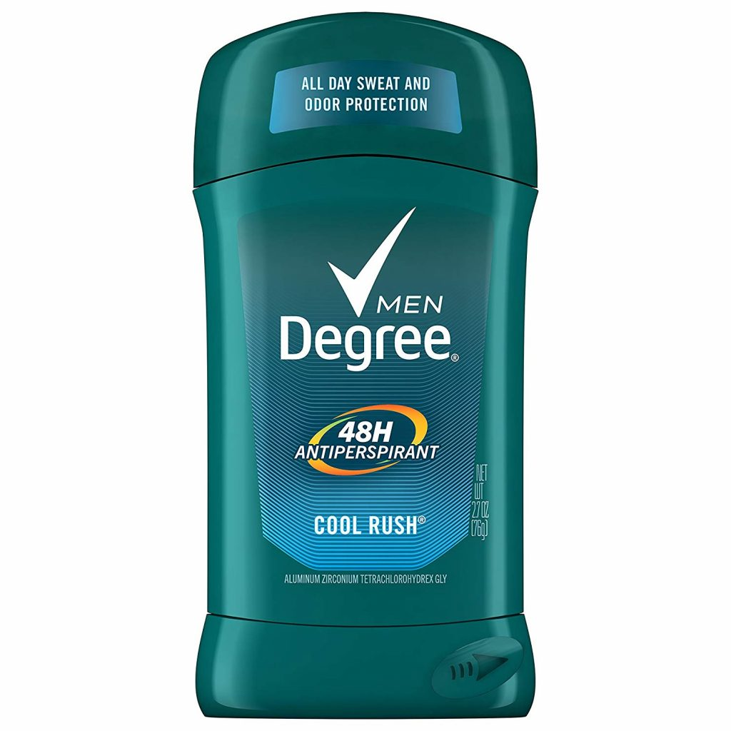 cool rush best men's deodorant