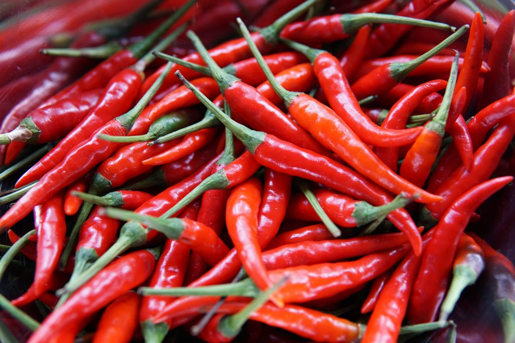 Red Chilies, Capsaicin, Weight Loss