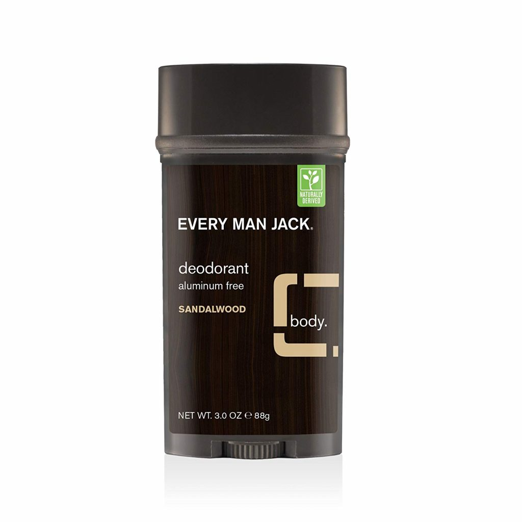 sandalwood natural men's deodorant