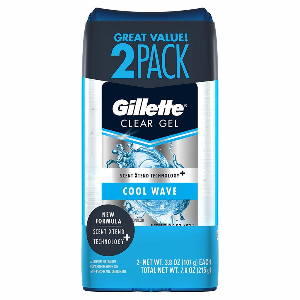 gillette best men's deodorant