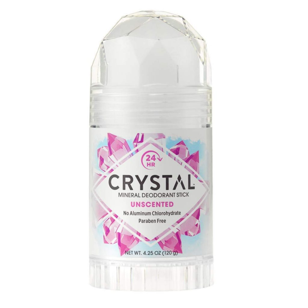 crystal unscented men's deodorant