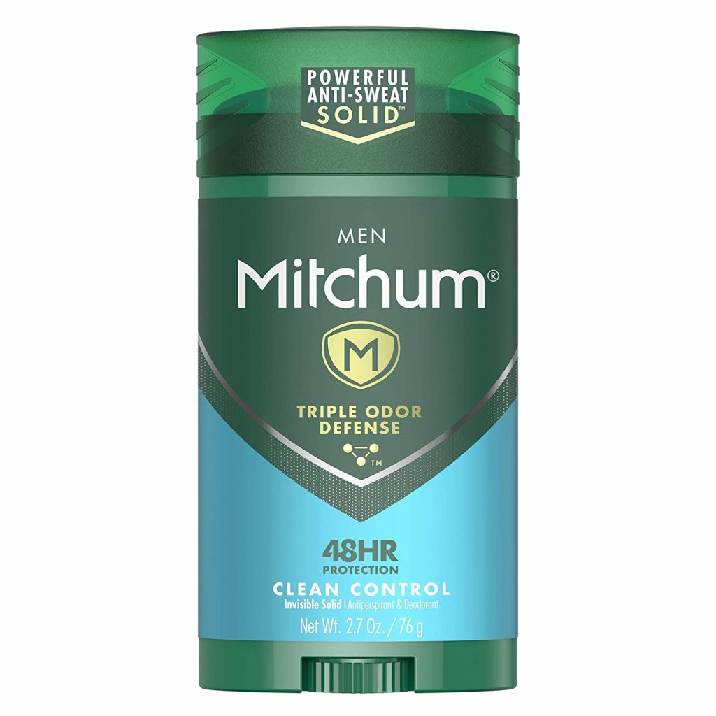 mitchum is the best men's deodorant ever