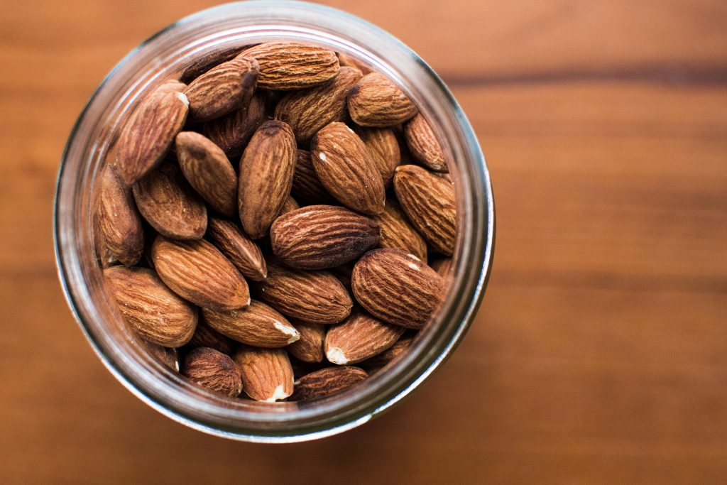 High Protein Foods, Almonds, Toasted, Nuts