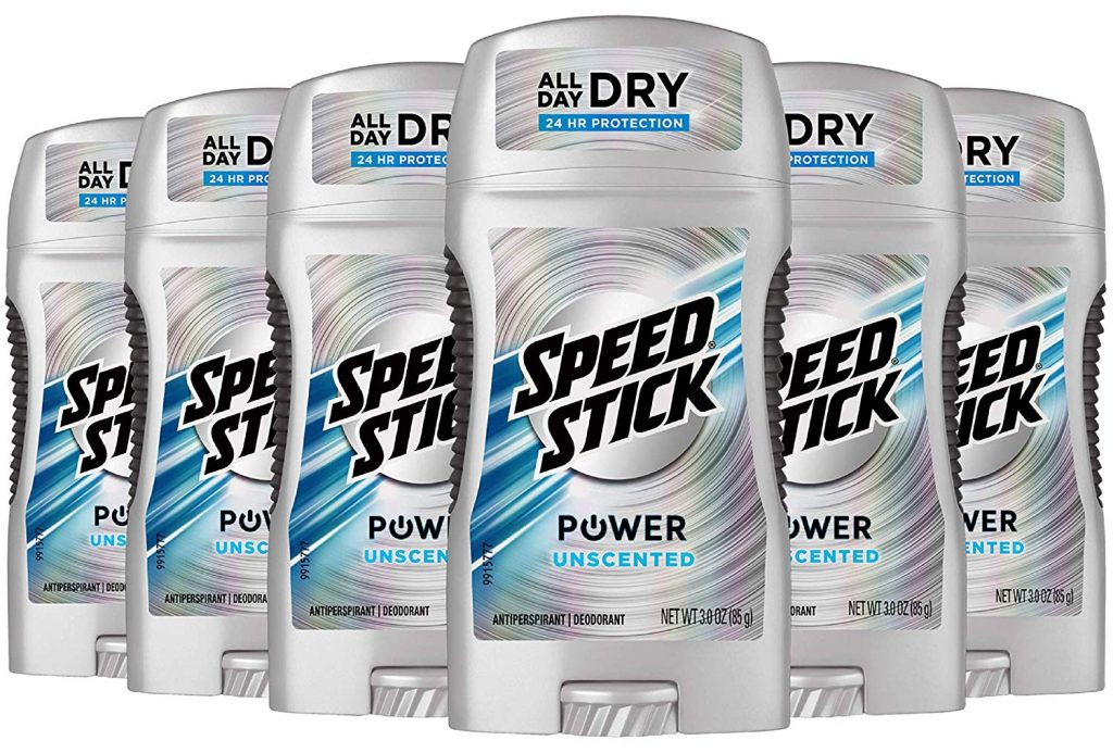 speed stick is the best men's deodorant