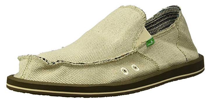 sanuk hemp loafer