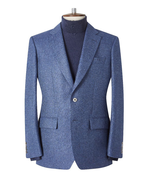 Chester Barrie Hopsack Donegal Elverton Jacket