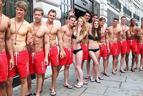 Hollister Lifeguard Models