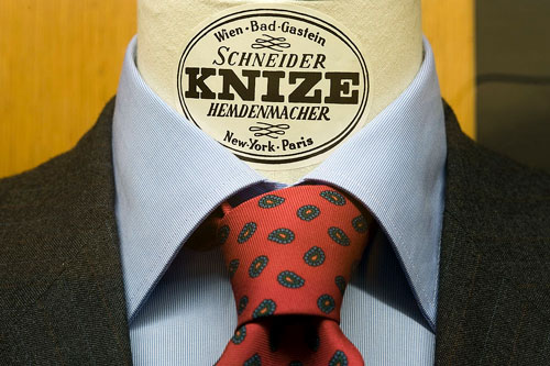 Knize custom tailored suit