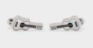 Paul Smith Guitar Cufflinks, Cufflinks, Silver Cufflinks