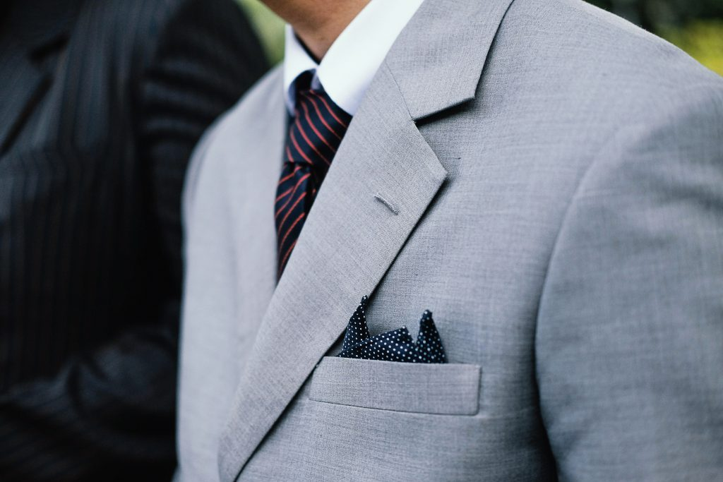Apart from looking good, pocket squares are functional too
