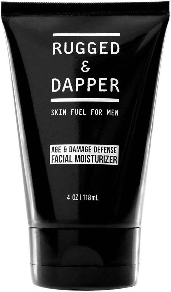 Rugged & Dapper – Age + Damage Defense Facial Moisturizer For Men