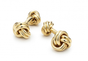 Tiffany & Co. Knot Cufflinks, Cufflinks, Gold Cufflinks