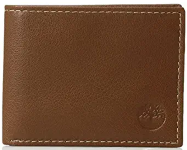 Timberland Men's Slimfold Leather Wallet