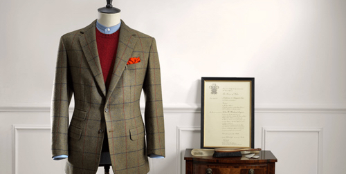 anderson and sheppard bespoke tailor suit