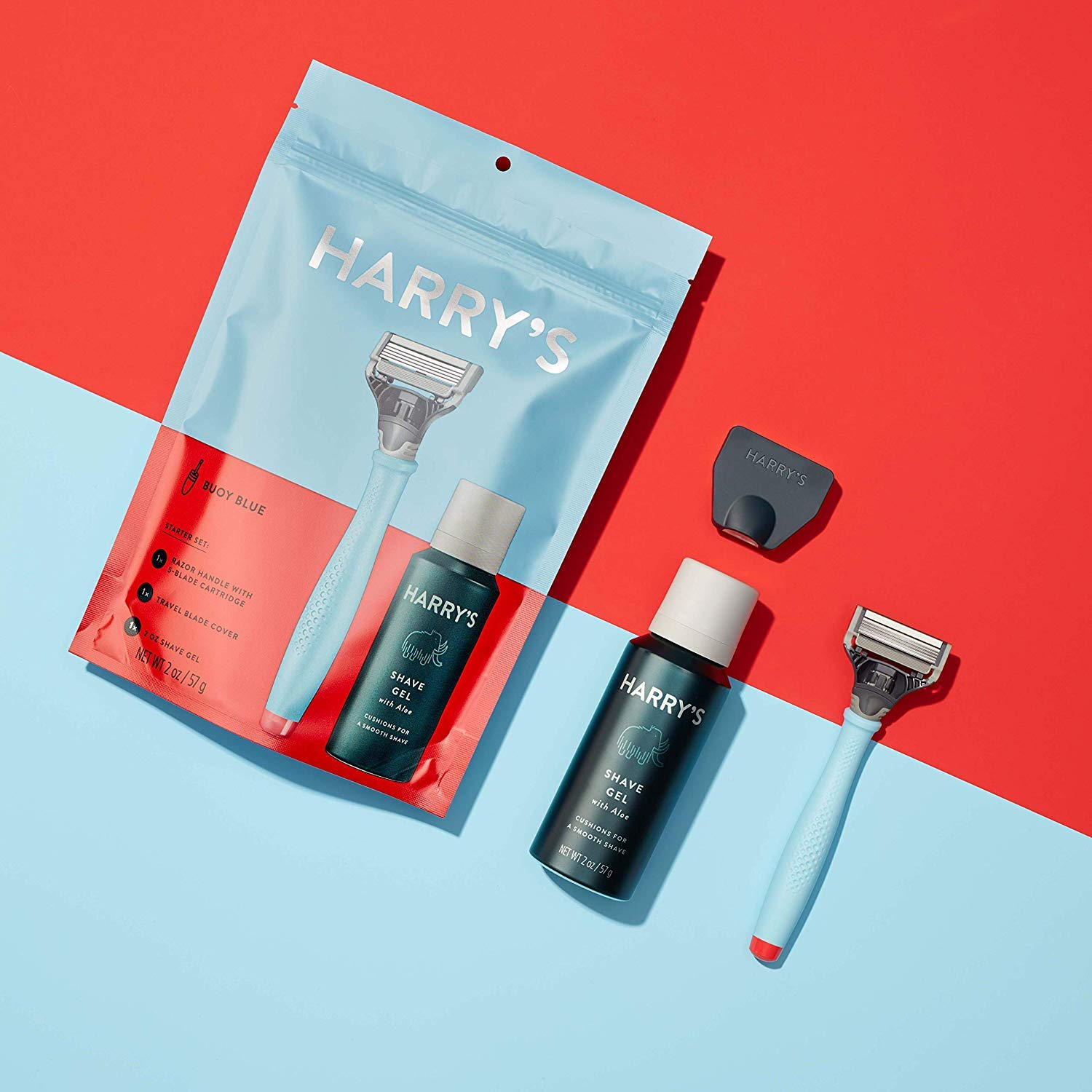 Harry's Starter Set, Pre-packaged Shaving Essentials