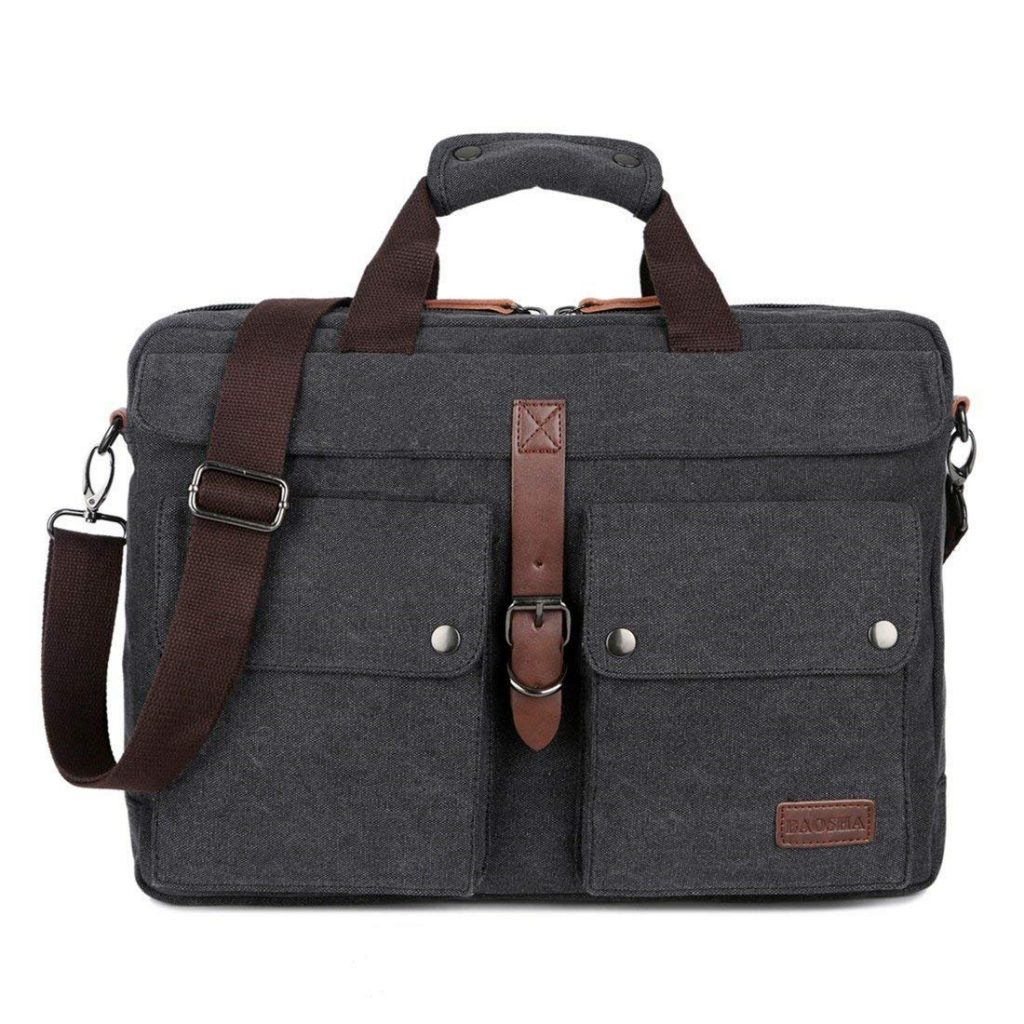 BAOSHA BC-07 17 Inch Canvas Laptop Computer Bag