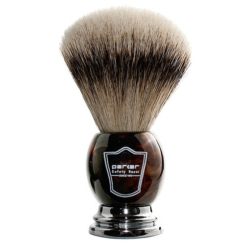 Badger Shaving Brush, Shaving Kit