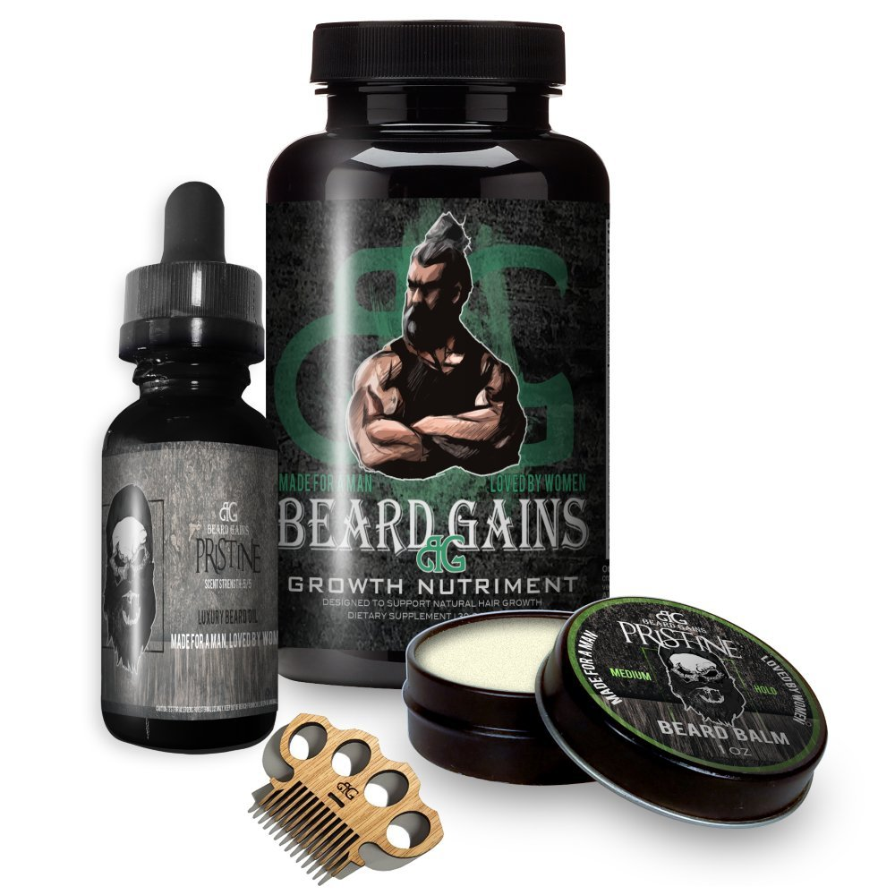 beard gains beard growth kit