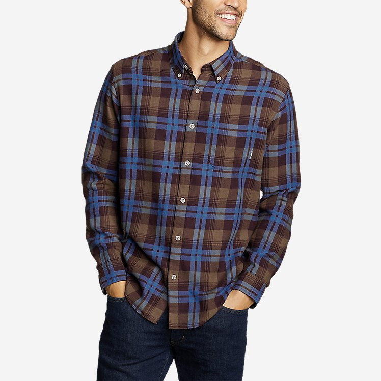 Eddie Bauer Wild River 2.0 Lightweight Flannel Shirt