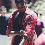 Man dressed in a flannel shirt