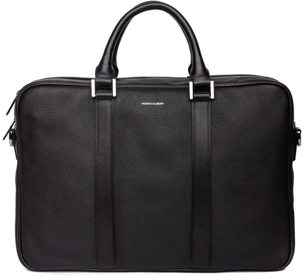 Hook & Albert Leather Laptop Briefcase