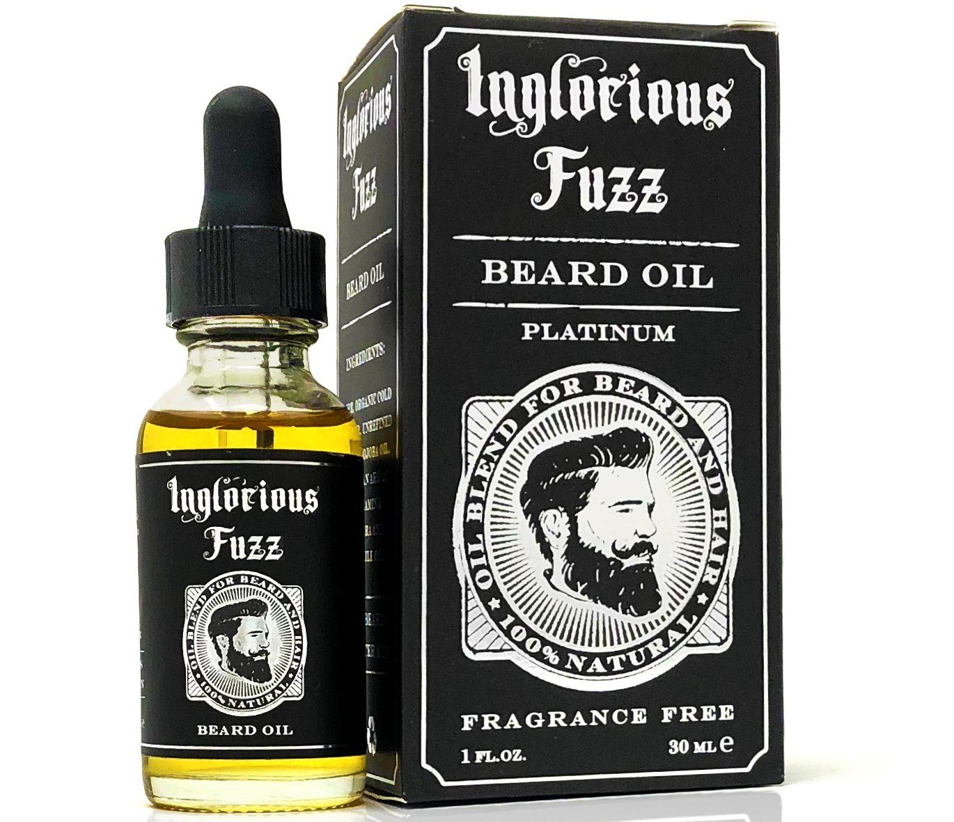 inglorious fuzz beard oil
