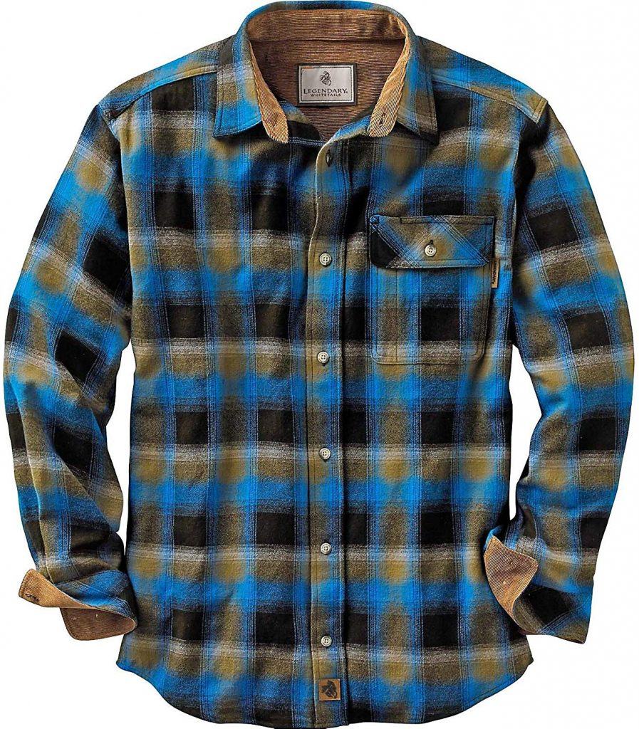 Legendary Whitetails Men's Buck Camp Flannel Shirt