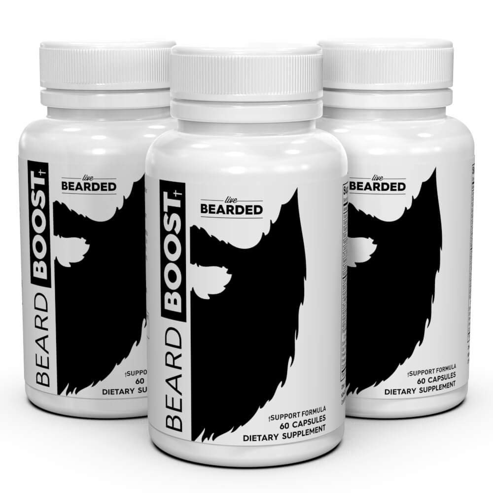 live beard supplements