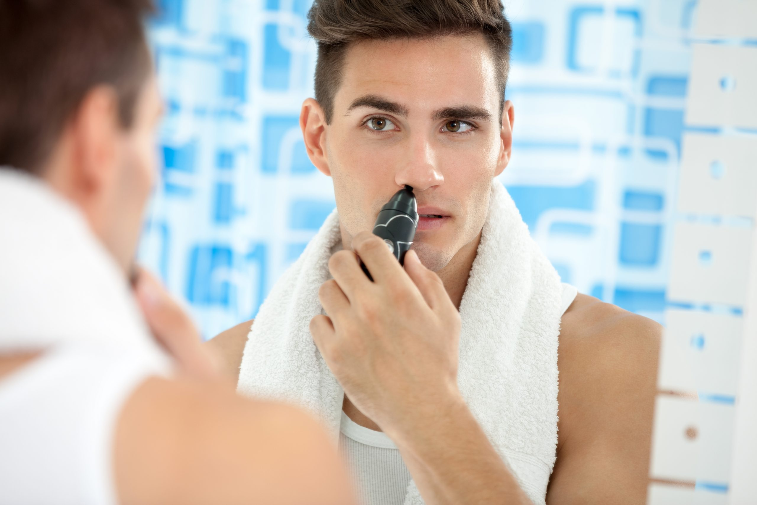 Nose Grooming, Nose Hair Trimming, How to Manscape