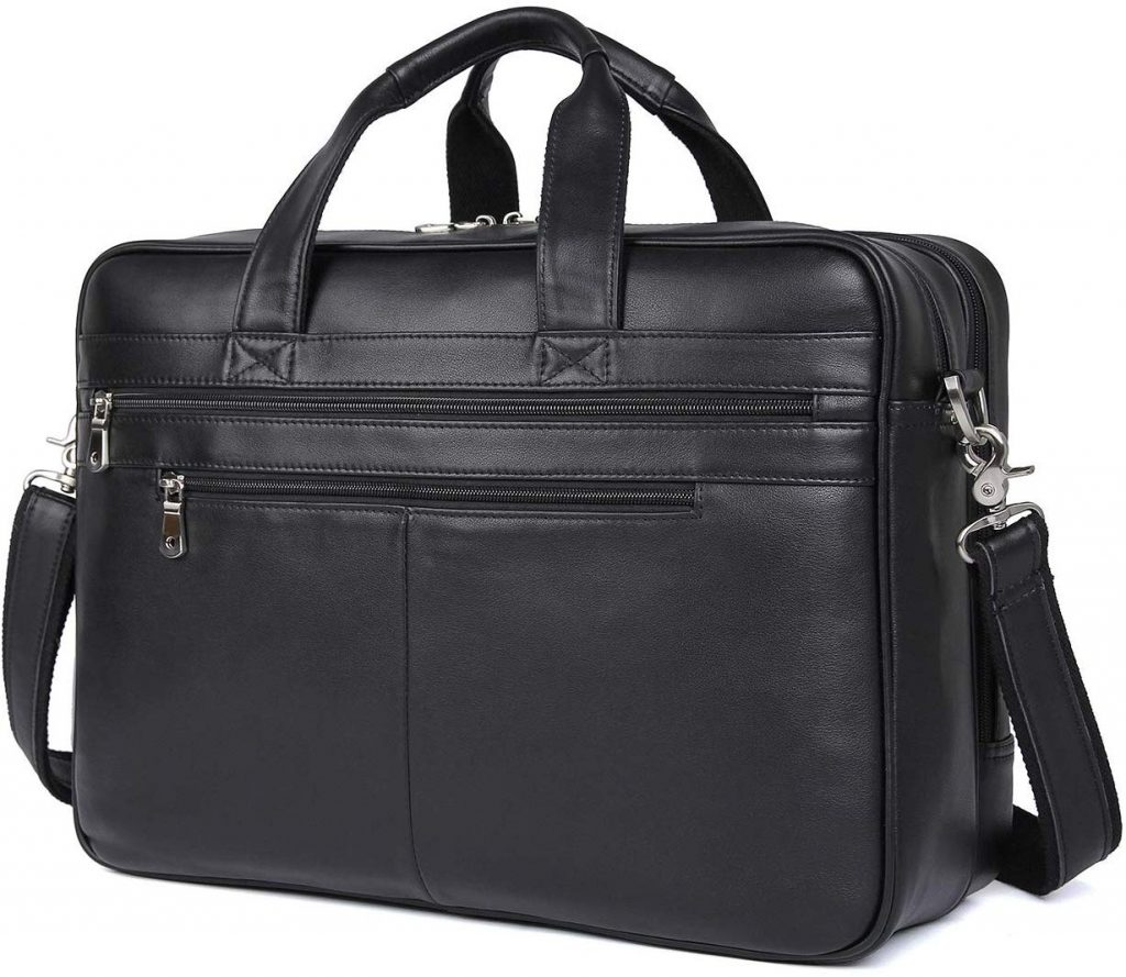 Polare Real Soft Nappa Leather Professional Briefcase