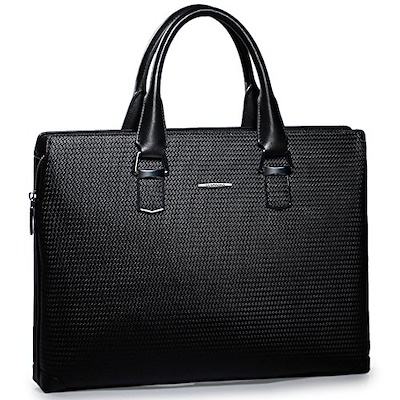 Sammons Men's Leather Weave Business Case