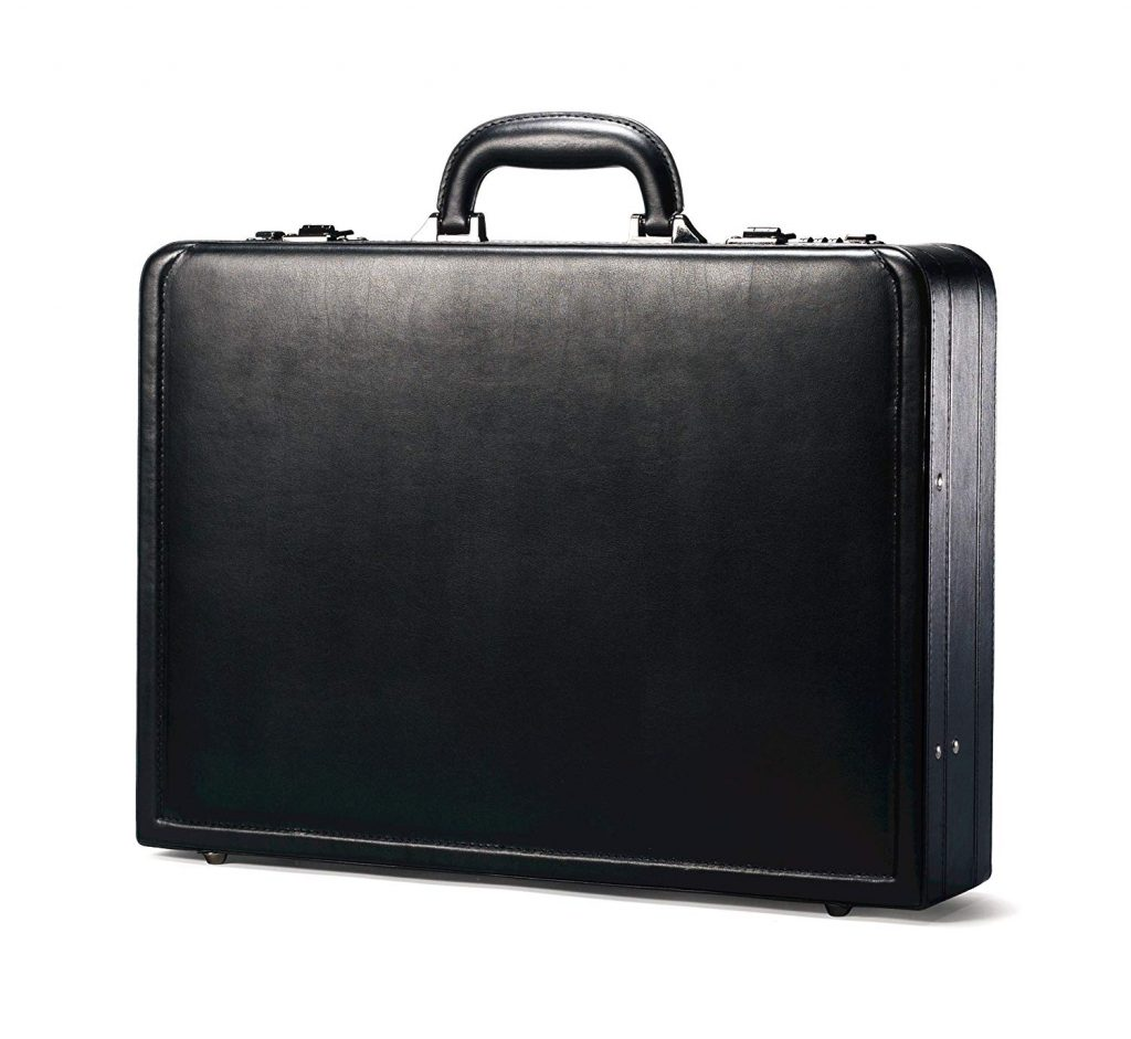Samsonite Bonded Leather Attache