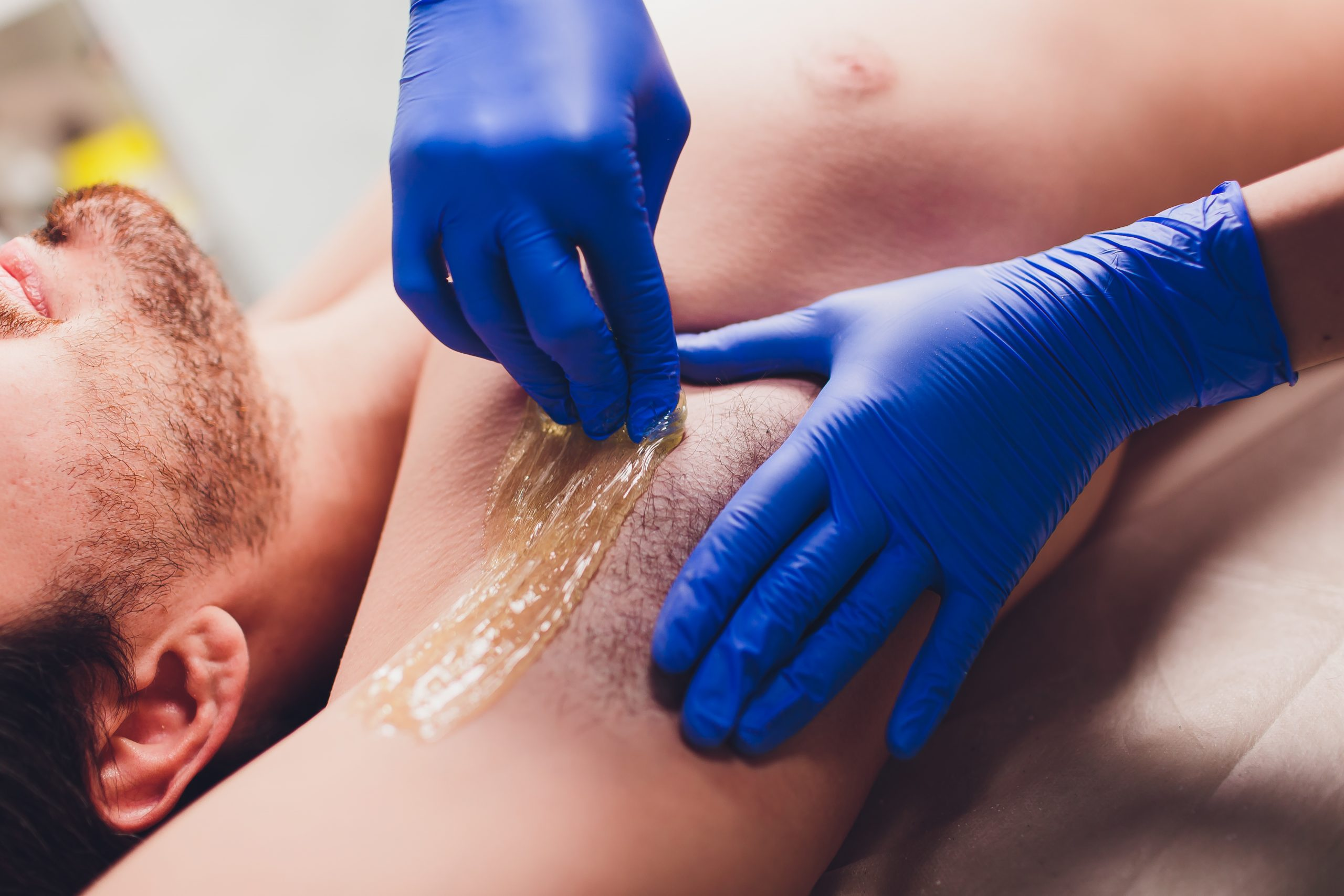 Sugaring Hair Removal Technique, Sugaring, How to Manscape