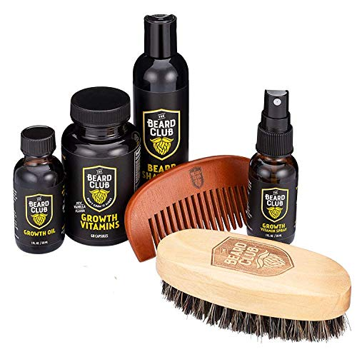 the beard club advanced beard growth kit