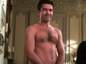 Antonio Banderas Chest Hair, The Top Heavy Chest Hair Style