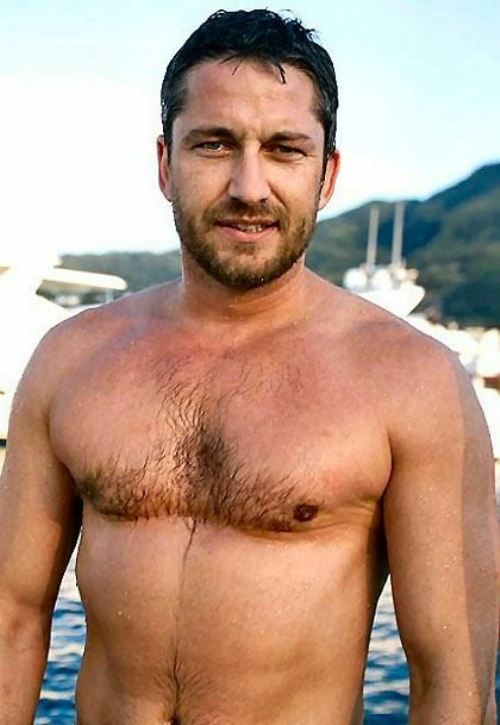 Gerald Butler Chest Hair, The Tree Chest Hair Design
