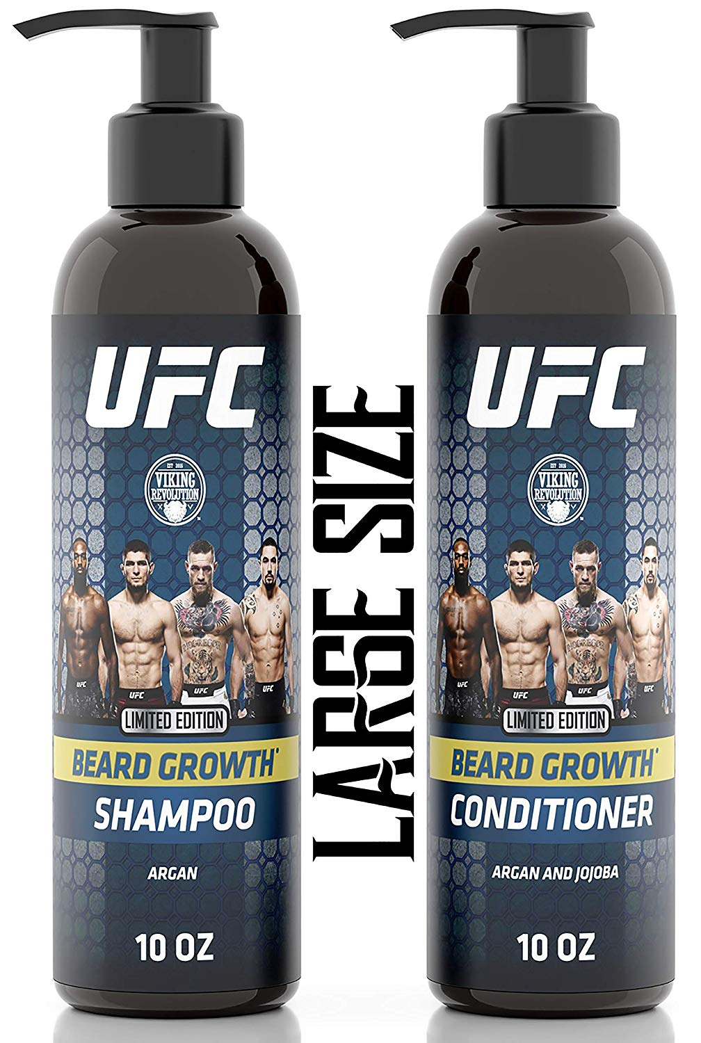 UFC beard wash and conditioner set